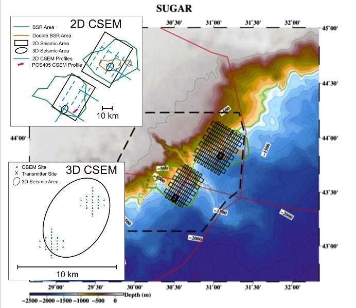 Bgr Projects Bathymetrische Karte Vom Westlichen Schwarzen Meer