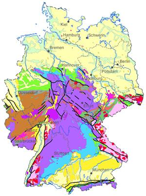 tektonische karte deutschland BGR   Deutschland   Geologische Karten Deutschland